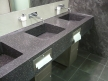 18Basin counter corian gravel