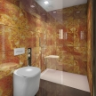 68_BUILT IN toilet, BUILT IN shower_onyx_des. V. Ambroz_Corian®