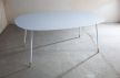 04AMOSDESIGN - table XL-corian, metal design by Adam Turecek